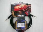 KLOTZ Instrument-Kabel 3m Kli/Kli KIK3,OPPSW