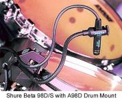 SHURE BETA 98D/S Mikro Tommikro inkl. Holder