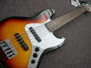 FENDER Standard Jazz Bass V PF Brown Sunburst  5-string