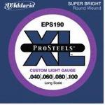 D`ADDARIO Saiten EPS190 040-100 Pro Steel