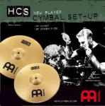 MEINL HCS1418 Beckenset  14 HH,18Crash Ride