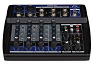 Wharfedale Connect-802USB Mixer 2XLR + 2Stereo Line