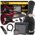 SQUIER Affinity Stratocaster HSS RW CAR + Fender Frontman 15G Set