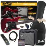 SQUIER Affinity Stratocaster HSS RW CAR + Fender Frontman 15G Set