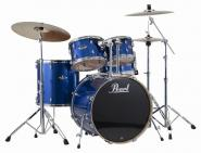 PEARL EXPORT EXX705NBR/C Electric Blue Sparkle + Sabian Beckenset