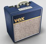 VOX AC4 C1BL Blue GIT.COMBO 4W Röhre 1x10