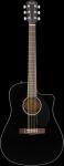 Fender Westerngitarre CD-60SCE BK Mass.Decke;Cutaway;Fishman TA