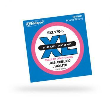 D`ADDARIO Saiten EXL170-5 Bass 045-130