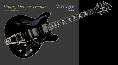 HAGSTROM Viking Deluxe Tremar Black