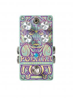 DIGITECH Polara Stereo Reverb Pedal mit 7 Lexicon Hallprogrammen