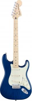FENDER Deluxe Stratocaster  SBT Maple Neck Saphire Blue Transparent