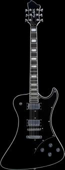 HAGSTROM Fantomen Black E-Gitarre
