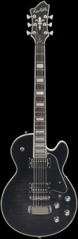 HAGSTROM SUPER SWEDE Cosmic Black BURST MAH./AHORN