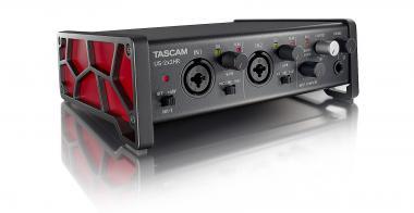 TASCAM US-2X2HR 2-Kanal USB Audiointerface