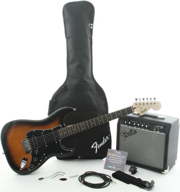 SQUIER Affinity Stratocaster HSS BSB+Fender Frontman 15G Set
