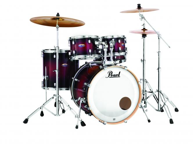 PEARL Decade Maple DMP925F Gloss Deep Red