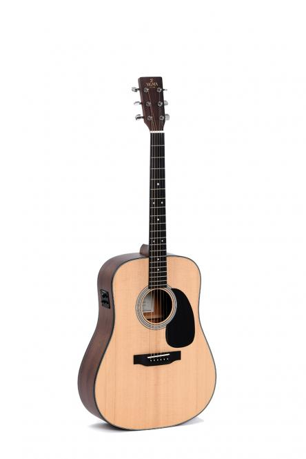 Sigma SDM-STE Westerngitarre vollmassiv + Softcase