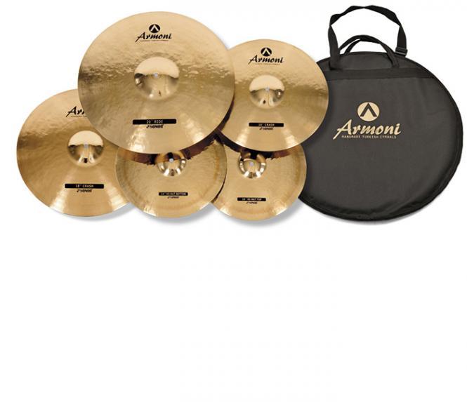 SONOR AC Set 2 Armoni Cymbal Set 14HH16+18Cr20Ri